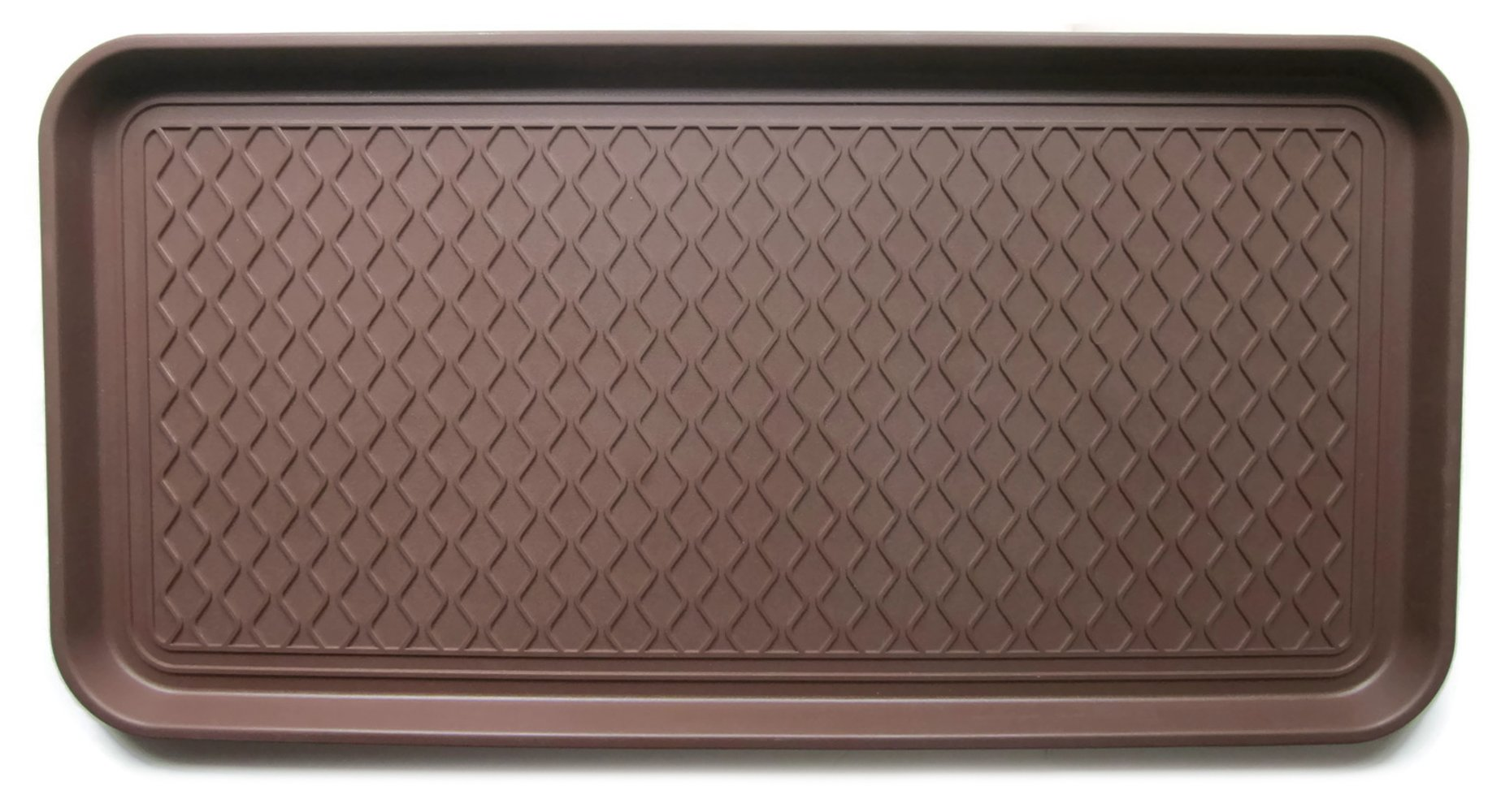 Multi-purpose Tray by Alex Carseon, for Boots, Shoes, Paint, Pets, and more. Anti-skid bottom. 30x15x1.2 inches - Brown by Alex Carseon