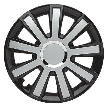 Juego de 4 tapacubos 14 pulgadas Master Line Plus C Flash _ Black de Silver para Chevrolet, - Tapacubos Tapacubos Tapacubo: Amazon.es: Coche y moto