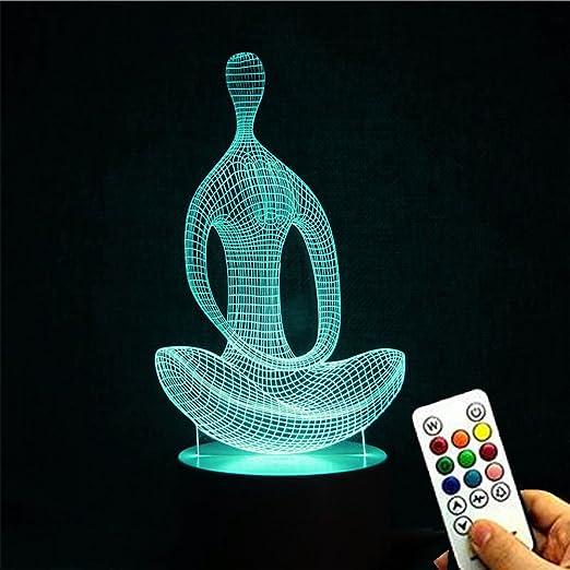 Deerbird® Yoga Meditación Estilo 3D Abstracto Visual Óptico ...