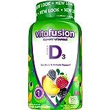 Vitafusion Vitamin D3, 50mg, Peach, Blackberry, Strawberry, 150 Count