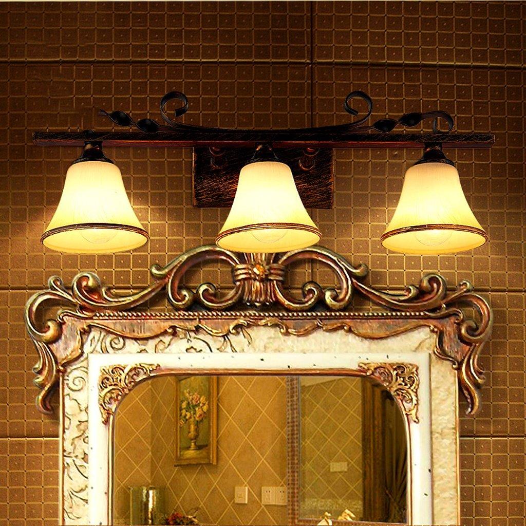 Ali Amerikanischen Spiegel vorne Lampe Bad Spiegel Schrank Lichter Europäischen Stil Retro Garten Lichter