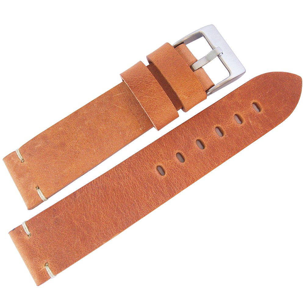 ColaReb 20mm Siena Tan Leather Watch Strap