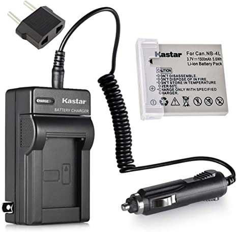 SD40//400//430//450 SD940 is Bonacell NB-4L 1200mAh Replacemen Battery 2 Pack and Charger Kit Comaptible with Canon PowerShot ELPH 100//300//310 HS SD30//300 SD1000//1100 IS//1400 is SD600//630 SD200