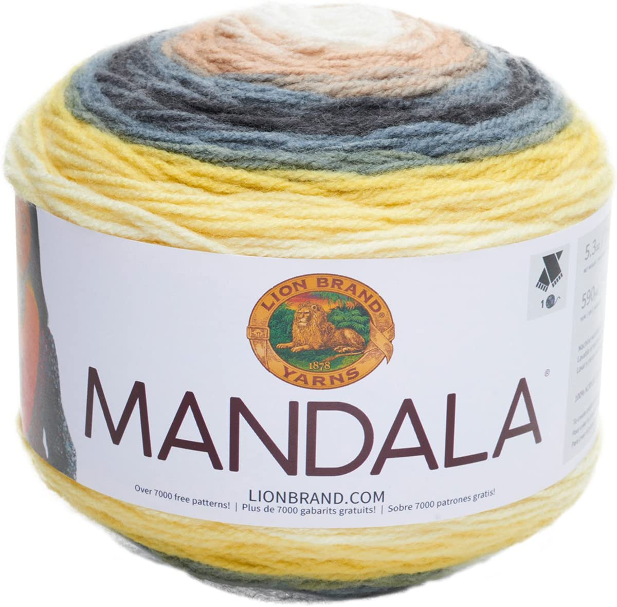 Lion Brand Mandala 215 Warlock Yarn