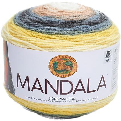 685bac282575 Amazon.com  Lion Brand Yarn 525-206 Mandala Yarn