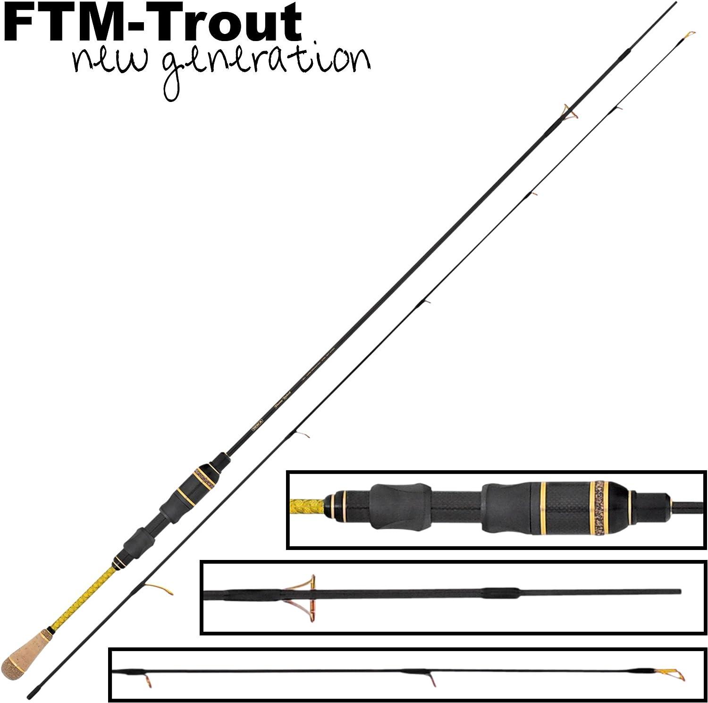 FTM Sniper 198cm 0-3,5g Spoon Spinnrute Ultra Light Rute zum Forellenangeln