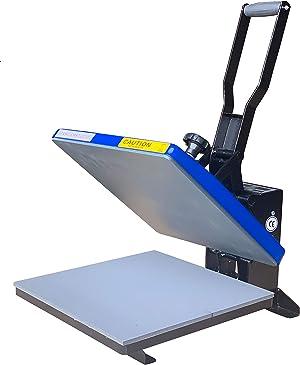 Fancierstudio Power Heat Press 15X15 Sublimation Rhinestone Heat Press T-Shirt Heat Press New Model FS15x15A YB