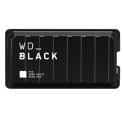 WD Black P50 - Game Drive SSD de 500 GB, excelente Rendimiento para Tus Juegos en Cualquier Parte