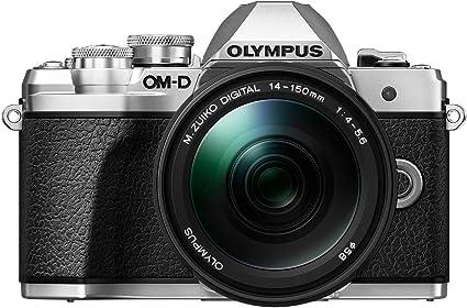 Olympus Om D E M10 Mark Iii Systemkamera Silber Inkl Kamera