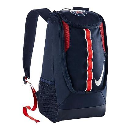 Nike Allegiance PSG Shield Compact Mochila, Hombre, Azul Midnight Navy/Blanco, Talla