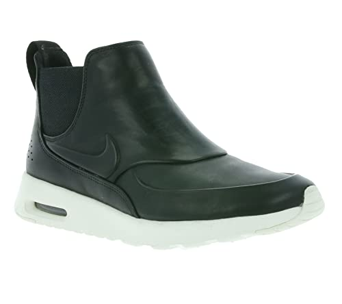 new arrival cbf20 f6f74 NIKE Womens Air Max Thea Mid Running Mid Top Athletic Shoes Black 6 Medium  (B