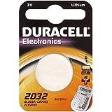 """DURACELL Lot de 2 pile bouton lithium """"Electronics"""", CR2032"""