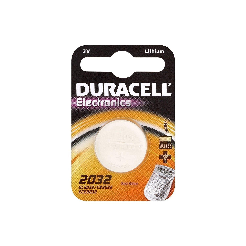 2x Duracell 2032CR2032DL2032Button Cell Batteries (Lithium)