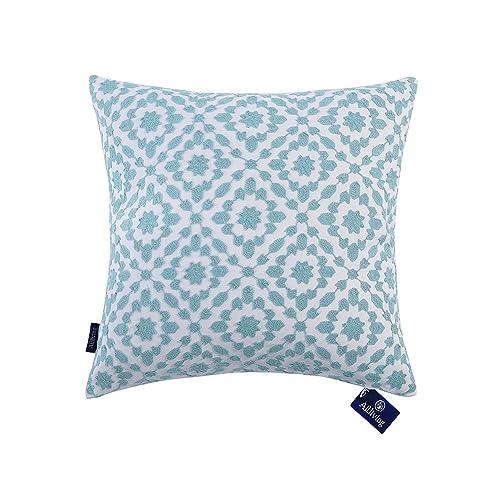 Light Blue Cushions Amazon Co Uk