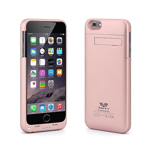 26 opinioni per Cover Batteria iPhone 6s plus, SAVFY 4800mAh Custodia Cover Protettiva con