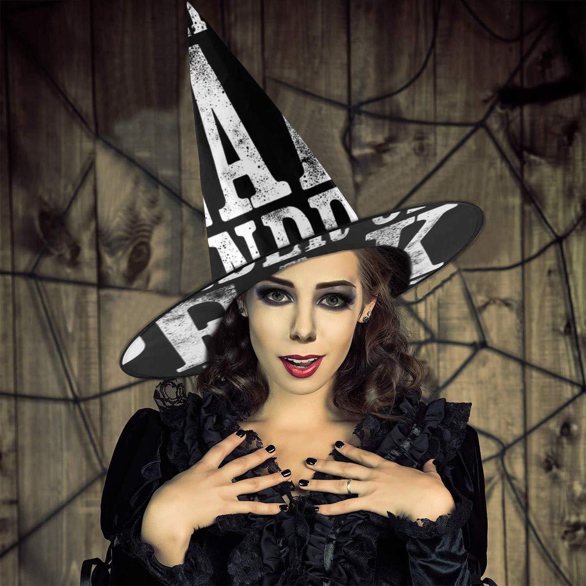 NUJSHF Orden de los Peaky Blinders Sombrero de Bruja Halloween ...