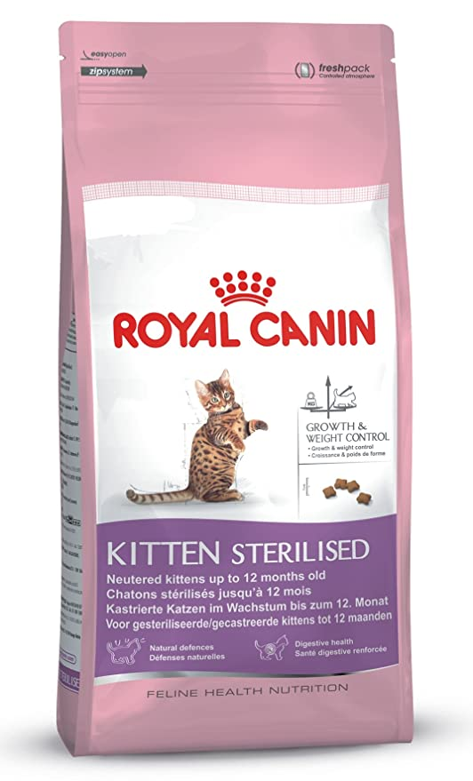 Royal Canin Comida para gatos Kitten Sterilised 400 Gr