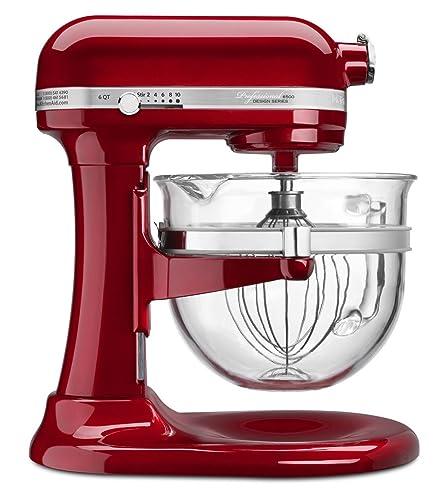 kitchenaid 5ksm7580xeca artisan küchenmaschine liebesapfelrot