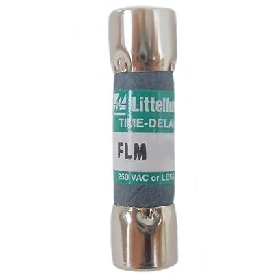 Littelfuse FLM007 7A, 250V, Slo-Blow FLM Series Midget Fuse: Home & Kitchen