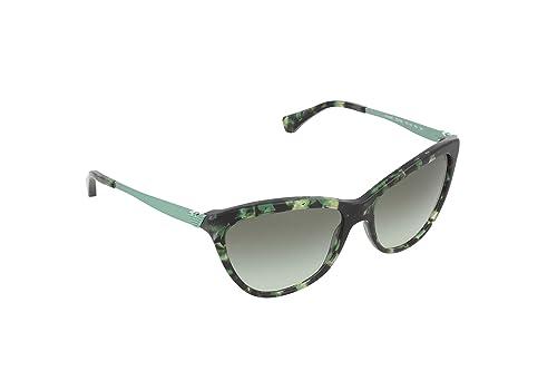 Emporio Armani Unisex-Erwachsene 4030 Sonnenbrille, Schwarz (Green 52278E), 57