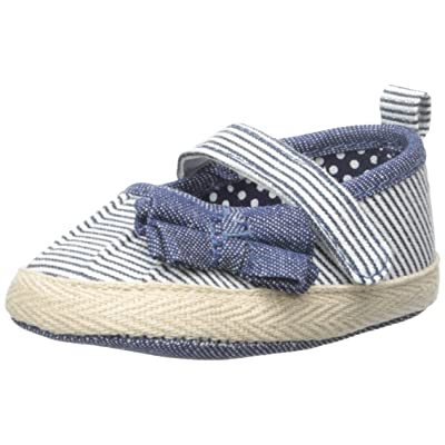 ABG Baby Mary Jane Espadrille With Bow (Infant)