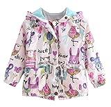 Plus Nao(プラスナオ) ウインドブレーカー 子供服 キッズ ジュニア ベビー アウター コート 女の子 子供 子ども 長袖 フード付き ジップア