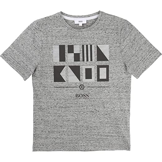8048614b Image Unavailable. Image not available for. Color: Hugo Boss Kids Boys T- Shirt ...