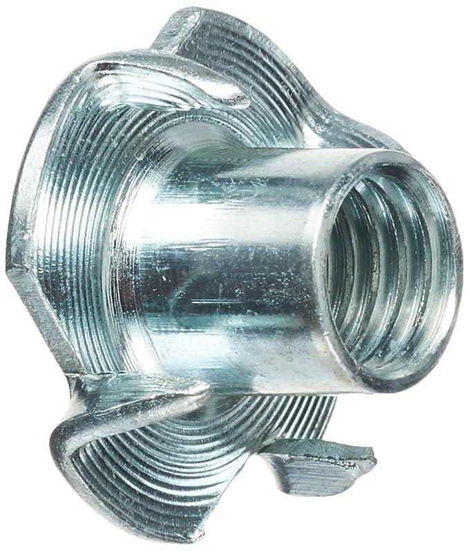 verzinkt 100 St/ück PARCO Einschlagmuttern mit 4 Einschlagspitzen M8 x 11 mm