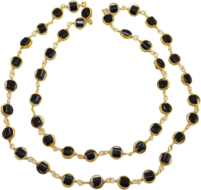 Banithani Piedra Preciosa Regalo de joyería declaración de Moda Collar de Moda para la Mujer