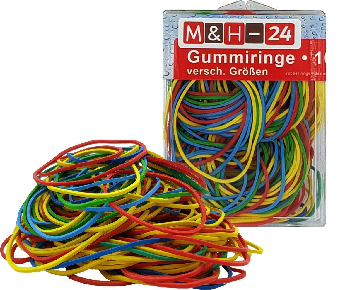 M And H Wiring | Gummiringe Haushalts Gummis Bunt Gemischt Ca 190 Stuck Pro 100g