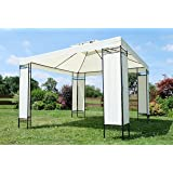 Eleganter Garten Pavillon Gartenpavillon 3x3 Meter Model: 7074-A von AS-S