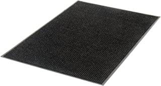 product image for Apache Mills Deep Cleaning Ribbed Entrance Mat, Charcoal, 36 x 60