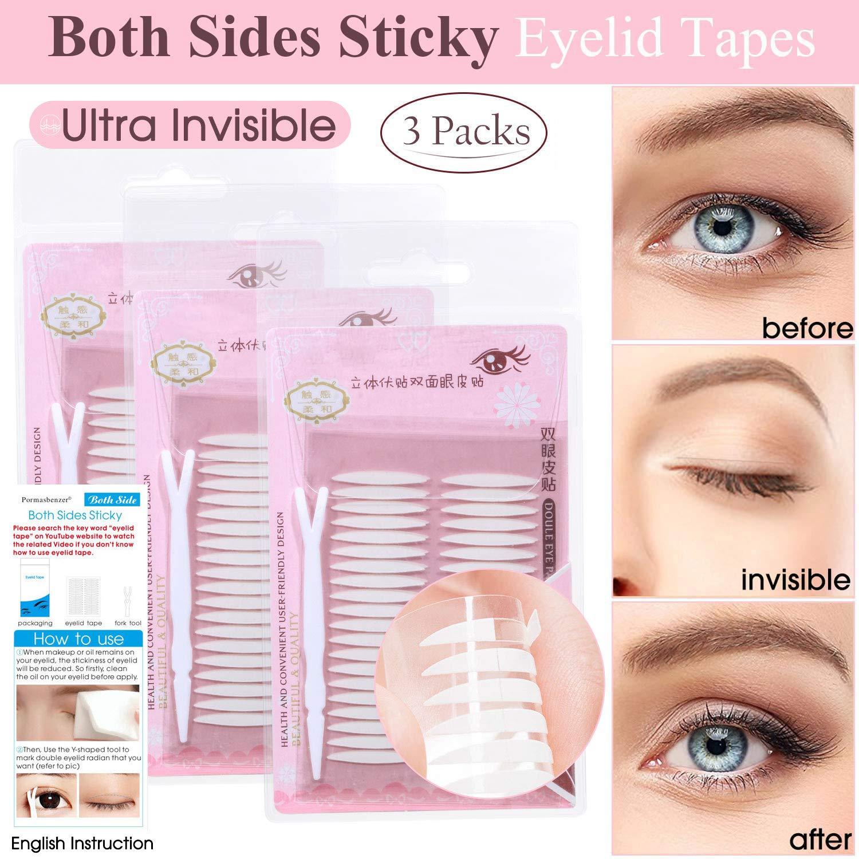 Amazon Natural Invisible Fiber Single Side Eyelid Tape