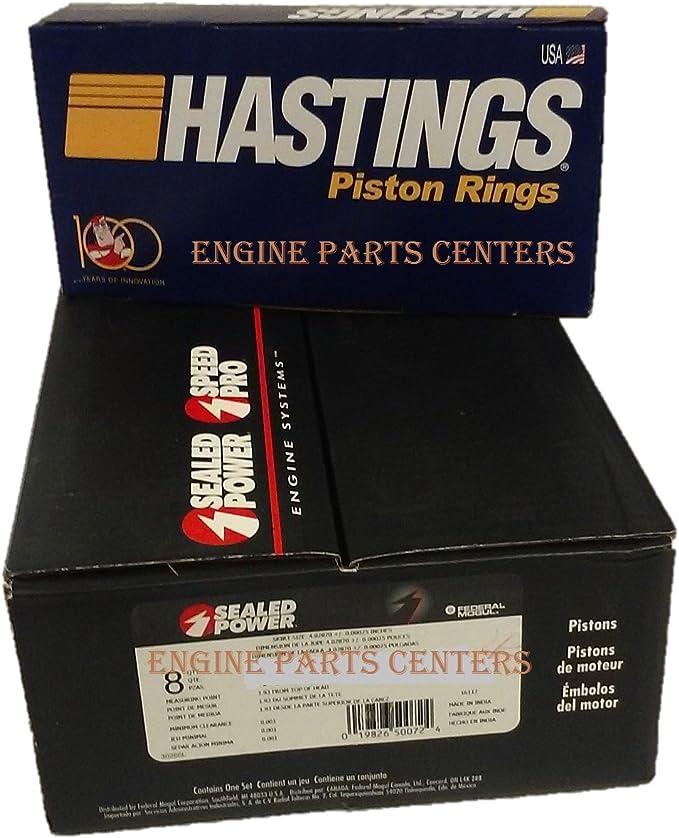 Chevy 305 Engine Kit Rings+Bearings+HP Oil Pump 1981-85