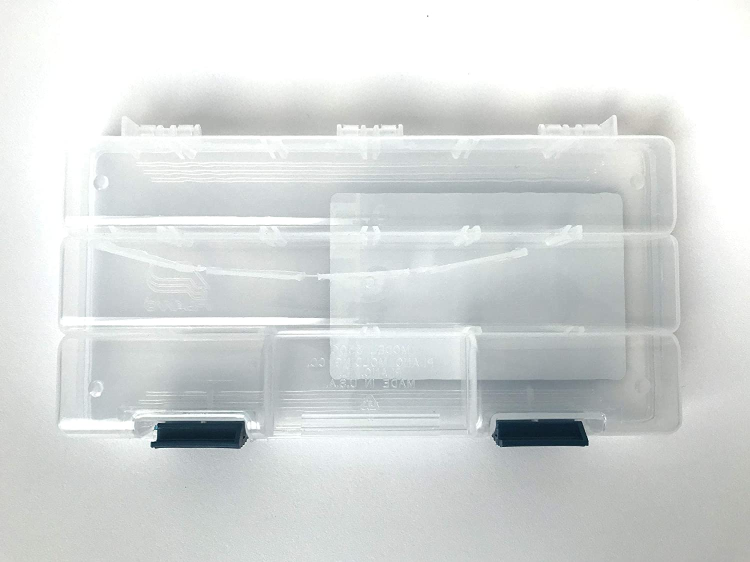 Plano Tackle Boxes,4 pack of 3500 Prolatch Stowaway Tackle Utility Boxes, Fishing Tackle Storage, blue: Sports & Outdoors