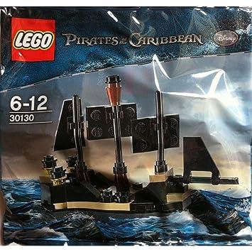 LEGO Mini Black Pearl Pirates of the Caribbean Set 30130: Amazon.co ...