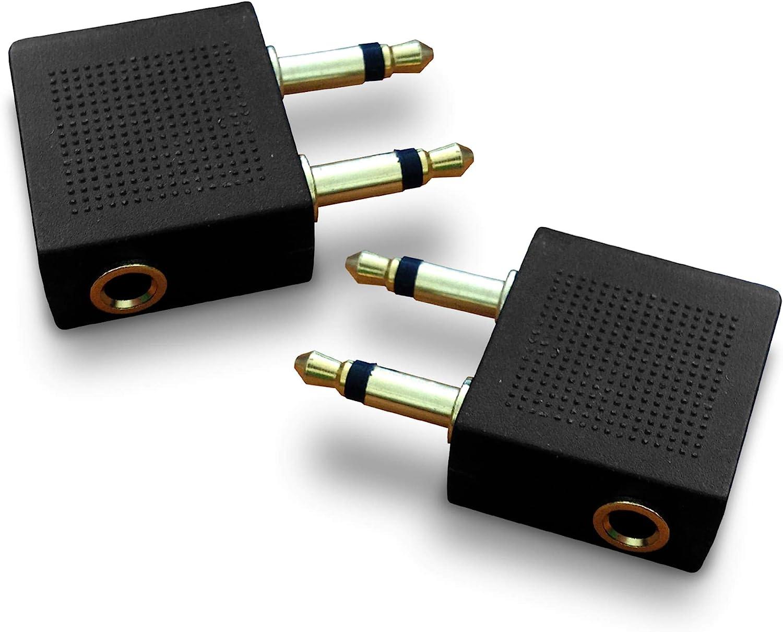 Flugzeugstecker Conversion Jack Adapter Stecker Für Noise Cancelling Kopfhörer