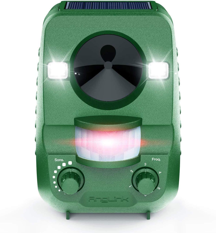AngLink 2020 - Repelente para gatos, repelente de ultrasonidos, disuasorio por ultrasonidos para animales