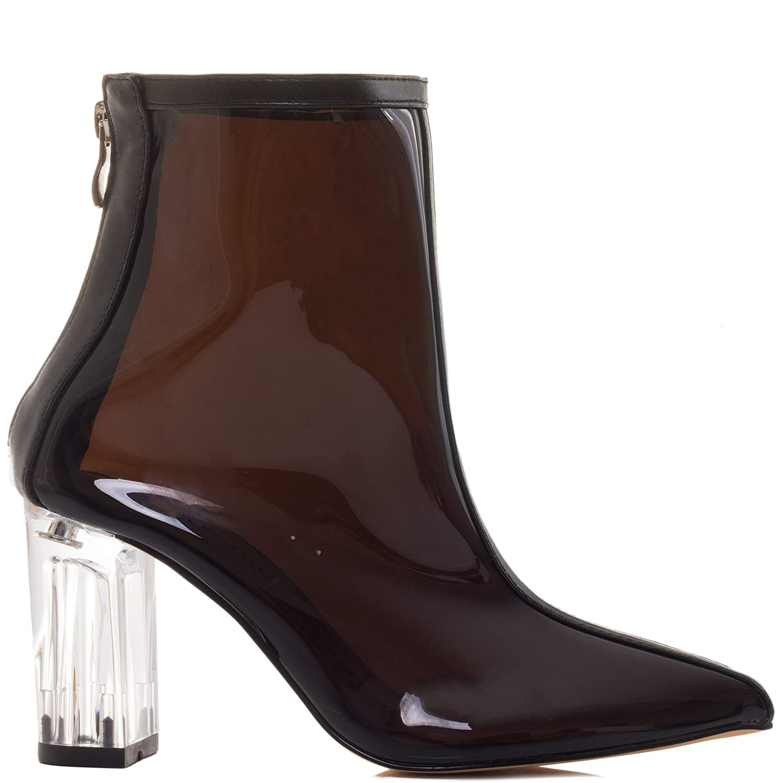 Spylovebuy Extra Damen Damen Damen Reissverschluss Blockabsatz Stiefeletten Schuhe 09bd6a