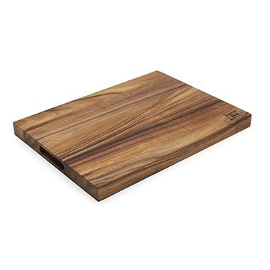 Ironwood Gourmet 28691 Long Grain Chop Board, Acacia Wood, Medium