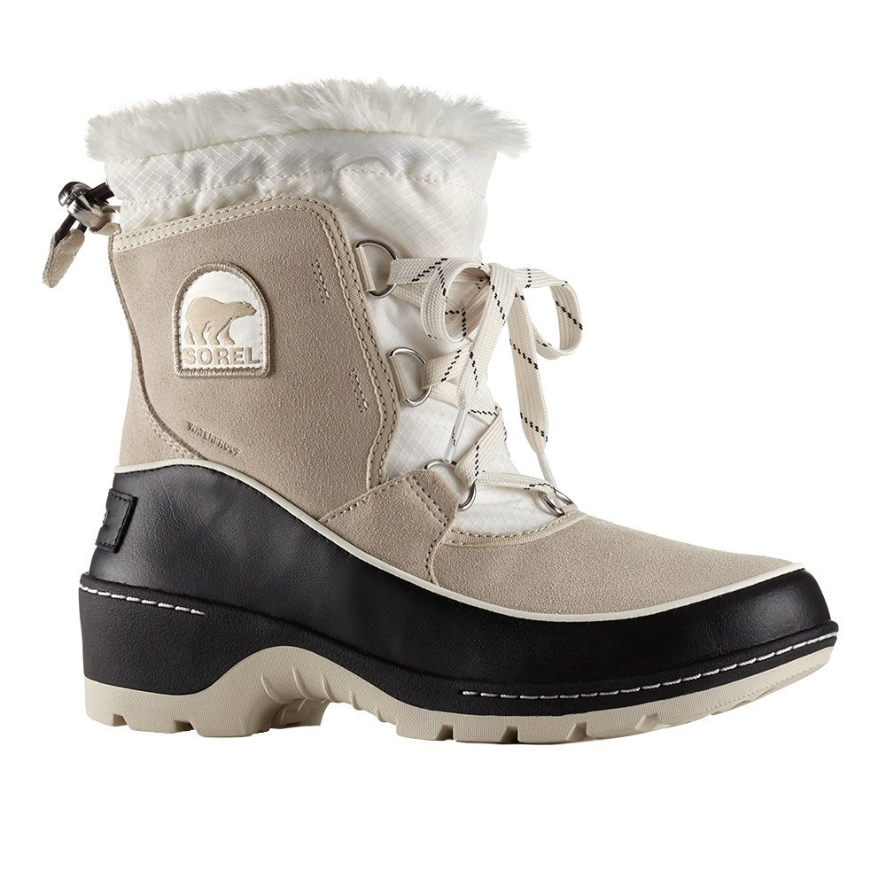 Sorel Tivoli III Winter Boots Fawn/Sea Salt Womens 8.5