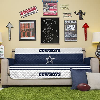 Amazon Com Nfl Dallas Cowboys Sofa Couch Reversible Furniture