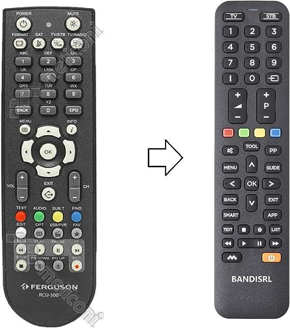 Ferguson Ariva 120 HD Combo Compatible Remote Control