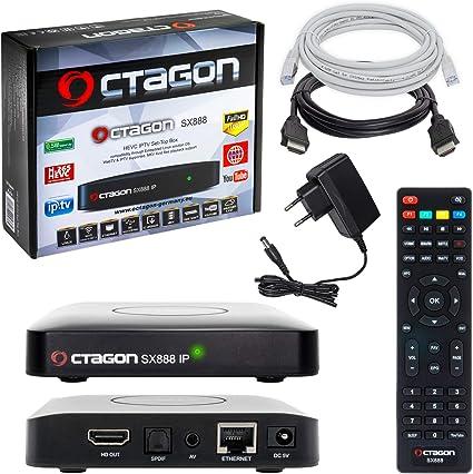 HB-DIGITAL Mini HD IPTV Set-Top Box Receiver Octagon SX888 + HDMI ...