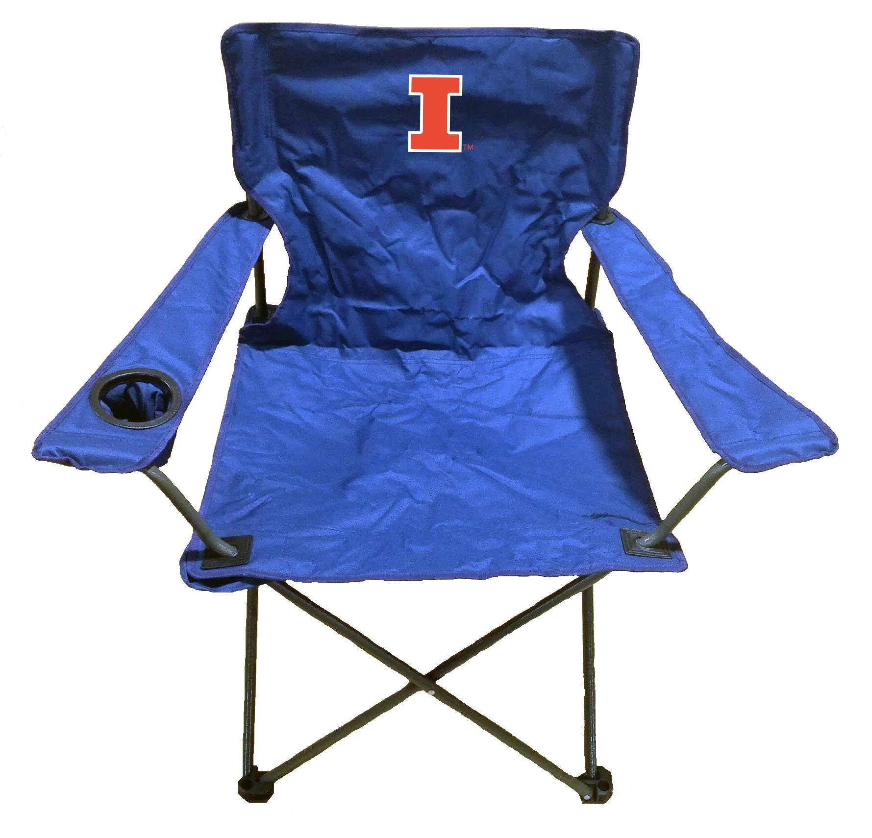 Rivalry NCAA Illinois Illini Folding Chair With Bag