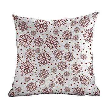 Amazon.com: Matt Flowe - Funda de almohada geométrica ...