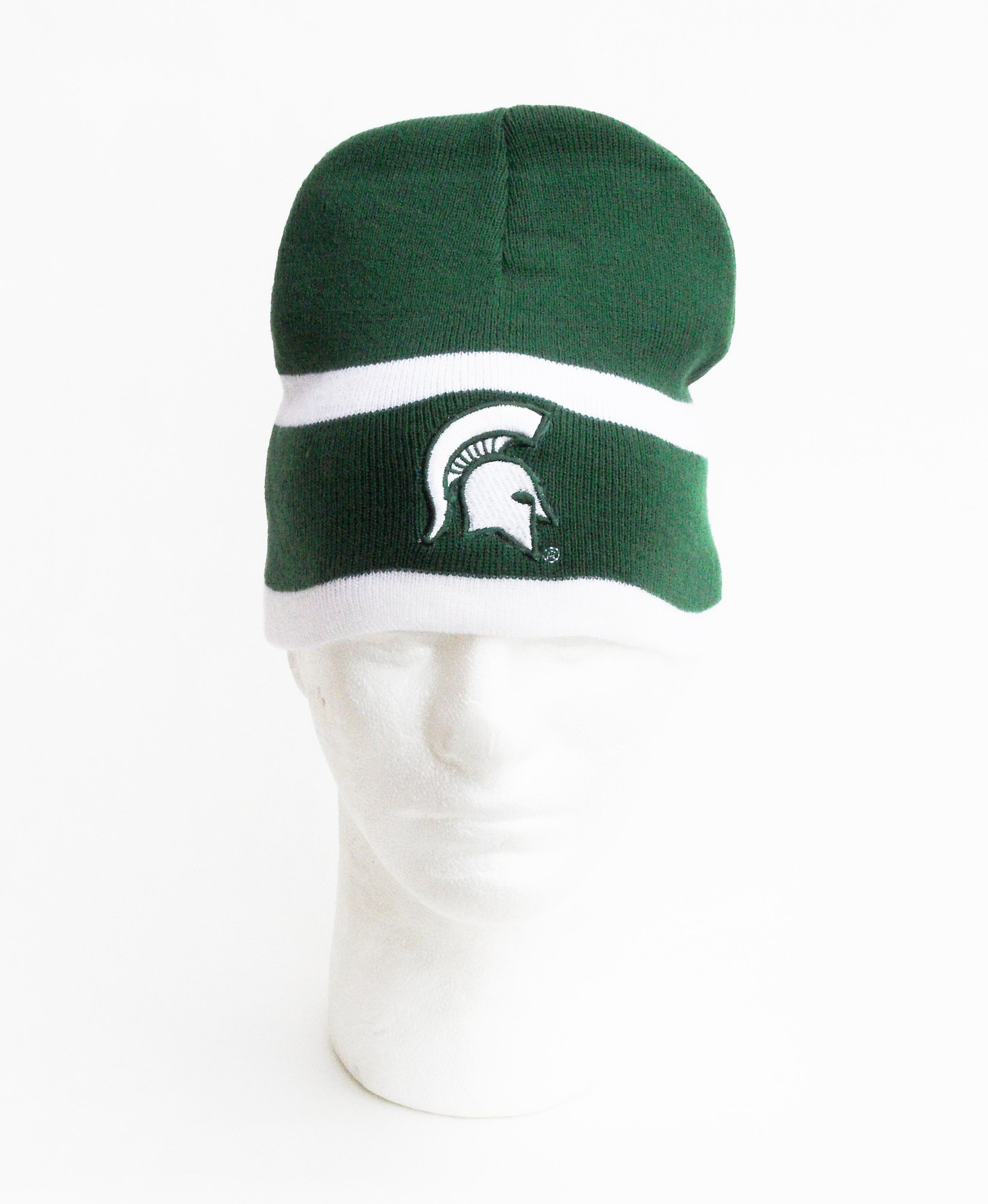 NCAA Michigan State Spartans Men's University Two-Sided Knit Beanie