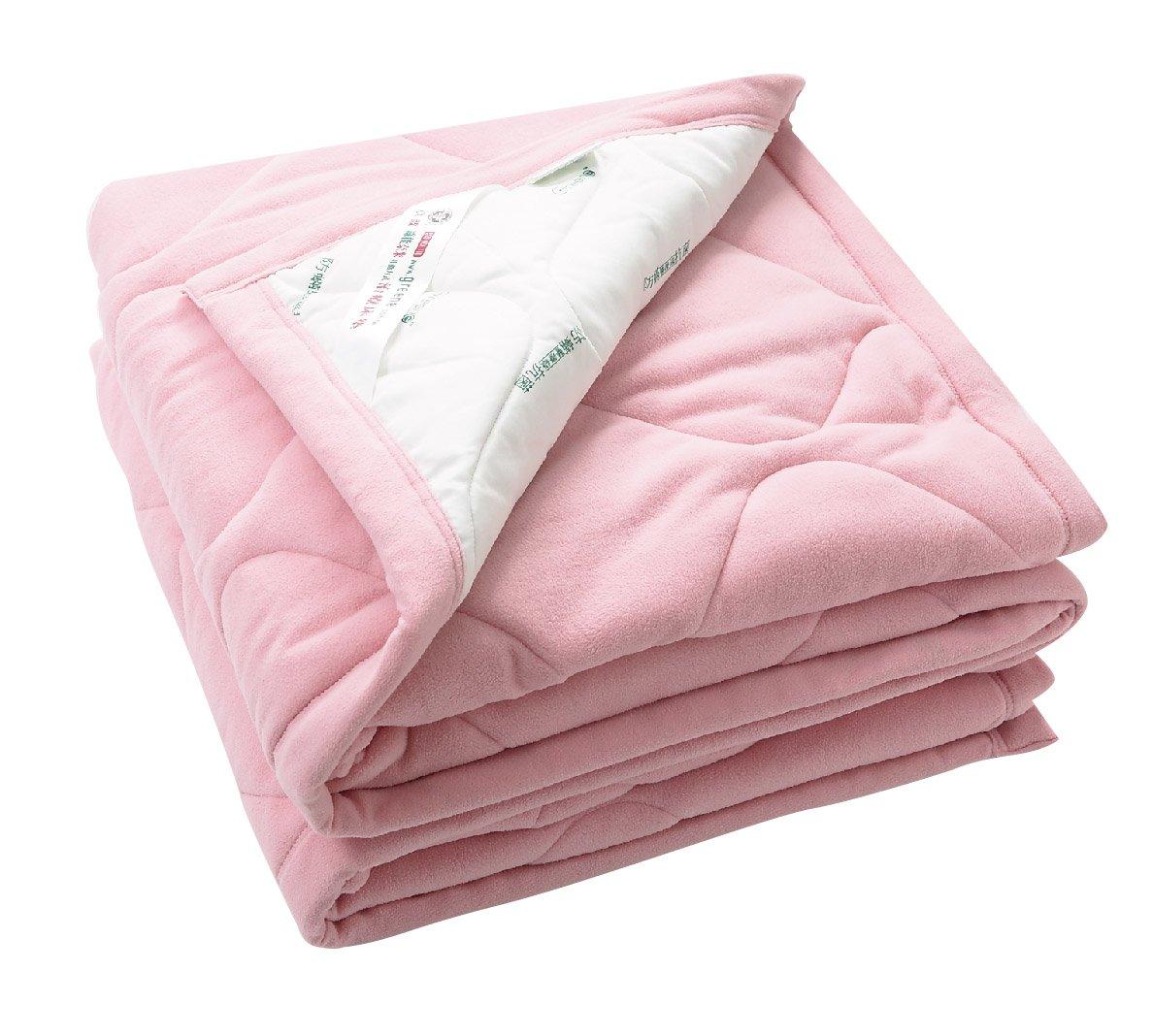 Greene Medical Warm Thermal Blanket Four Seasons Extraソフト生地スーパー通気性カラーピンク/ホワイト150 x 210 cm B00OZCQZSA