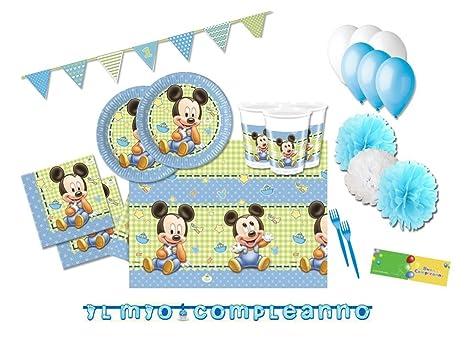 Kitchen, Dining & Bar Baking Accs. & Cake Decorating Kit Torta Baby Topolino Compleanno Festa Party Disney Cake Design Accessori