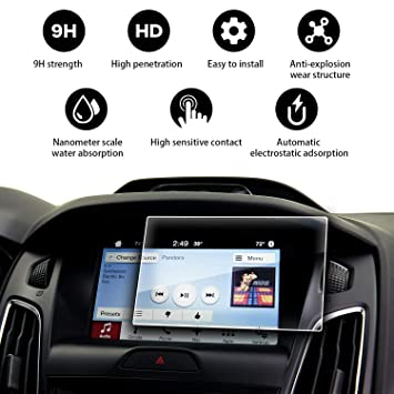 YEEPIN Ford Focus Navigation Screen Protector, 9H: Amazon co